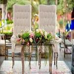 Sillas y Mesas para mesa principal